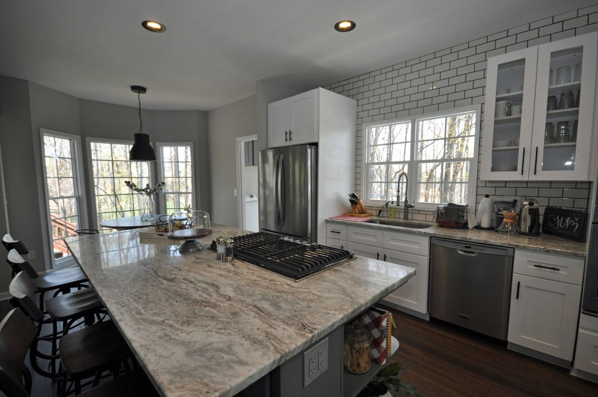Complete Main Level Remodel, Opening Walls, New Flooring, Ceilings, Kitchen and Paint