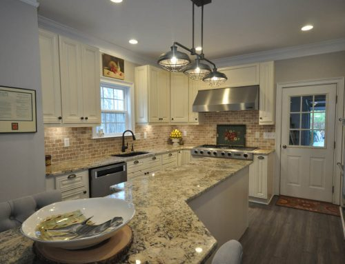 Dawsonville Kitchen with Custom Island