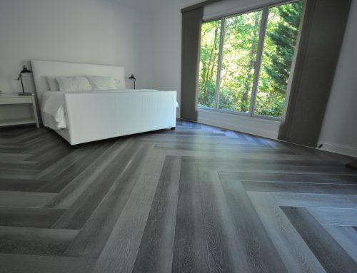 Herringbone Engineered Bamboo Floors