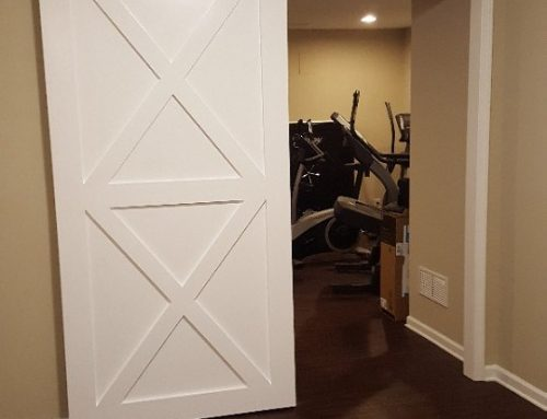Oversized Bar Door