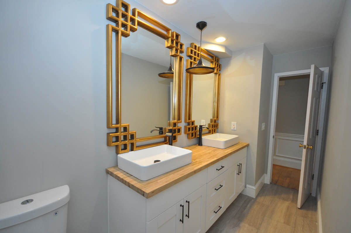 Roswell guest bathroom remodel